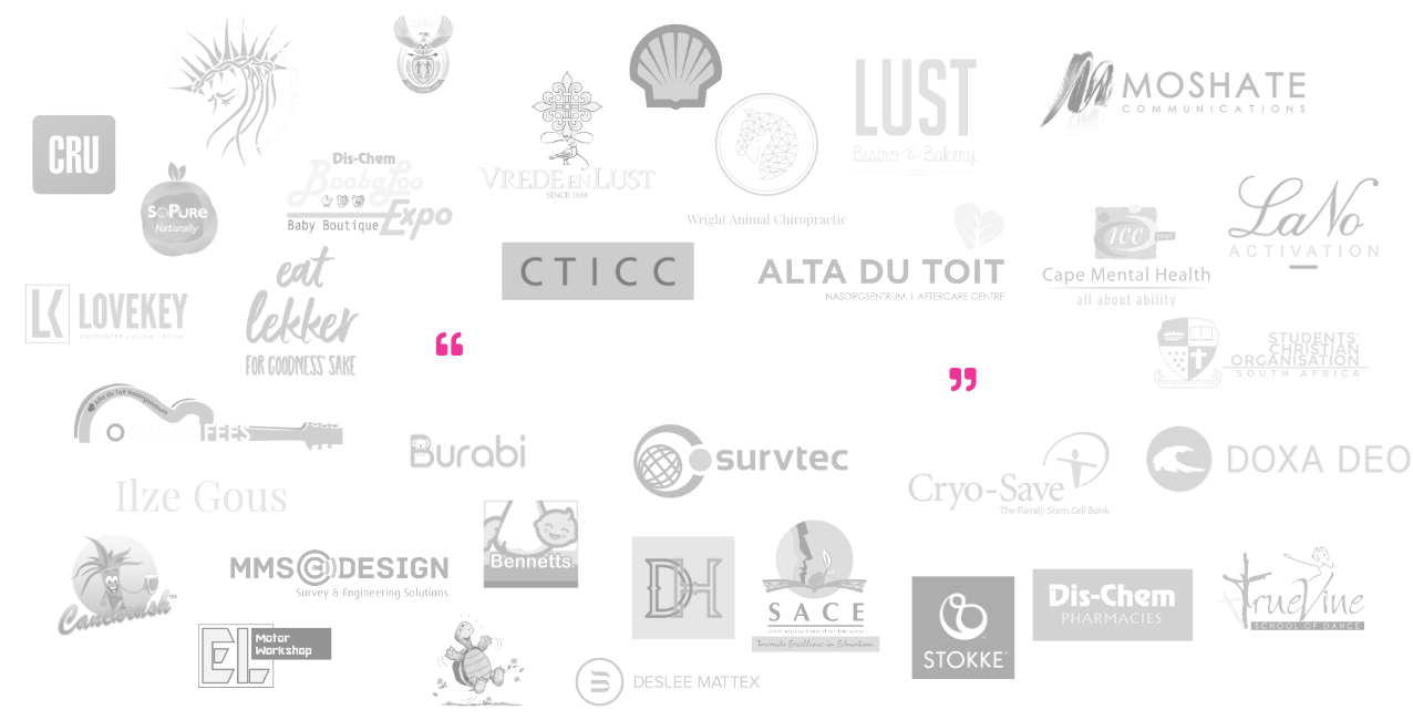 List of Firstlight Studio's clients & quote about identit